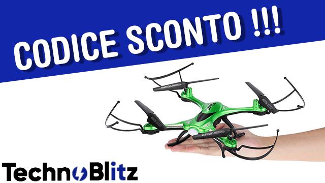 TechnoBlitz.it Drone per cominciare a pilotare CODICE SCONTO