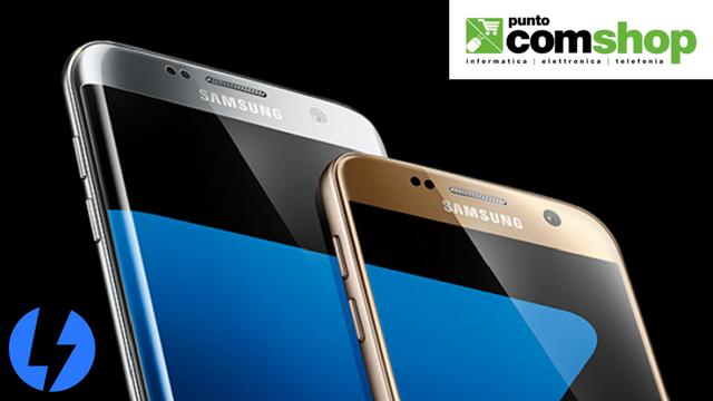 TechnoBlitz.it Saldi Puntocomshop.it: Galaxy S7 e S7 Edge a prezzi competitivi
