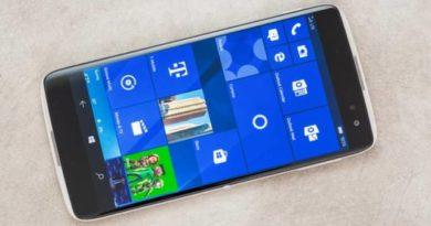 TechnoBlitz.it Alcatel Idol 4S unlocked con Windows 10 in vendita in USA