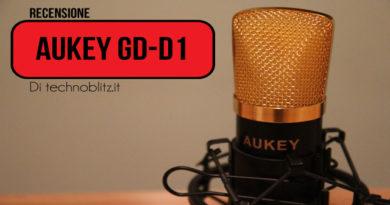 TechnoBlitz.it Recensione microfono Aukey GD-D1