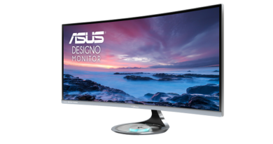 TechnoBlitz.it ASUS annuncia il monitor Designo Curve MX34VQ