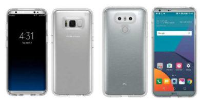 Nuove immagini leak confermano il design di Galaxy S8 e LG G6!