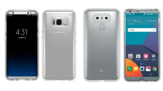 TechnoBlitz.it Nuove immagini leak confermano il design di Galaxy S8 e LG G6!