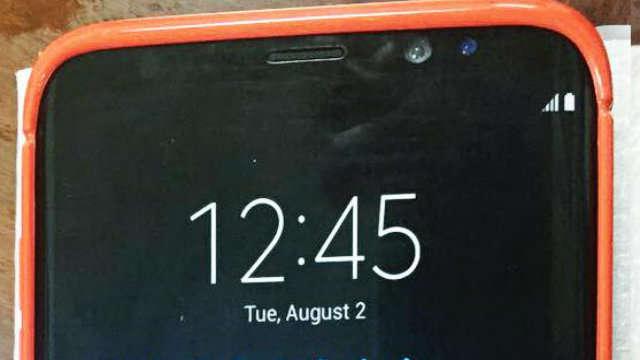 TechnoBlitz.it Galaxy S8: nuova foto lo mostra completamente (dentro una cover)