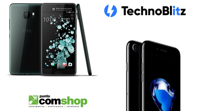 iPhone 7 Jet Black e HTC U Ultra, le super offerte di Puntocomshop.it
