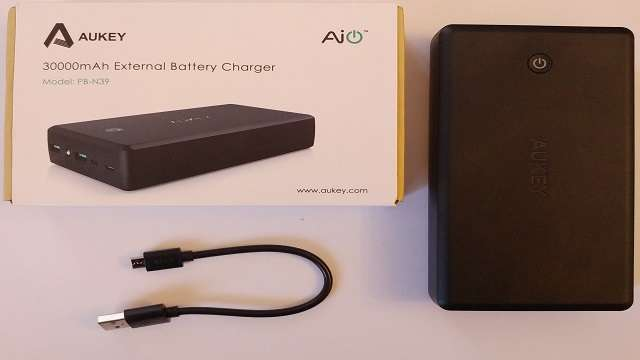 TechnoBlitz.it Recensione: powerbank da 30000 mAh by Aukey
