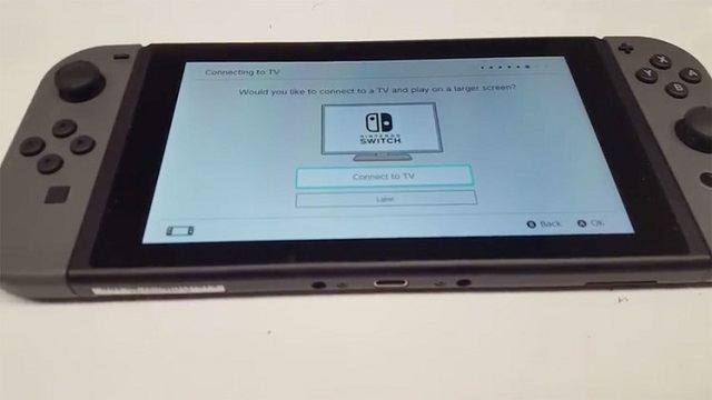 Il sistema operativo di Nintendo Switch trapelato in video