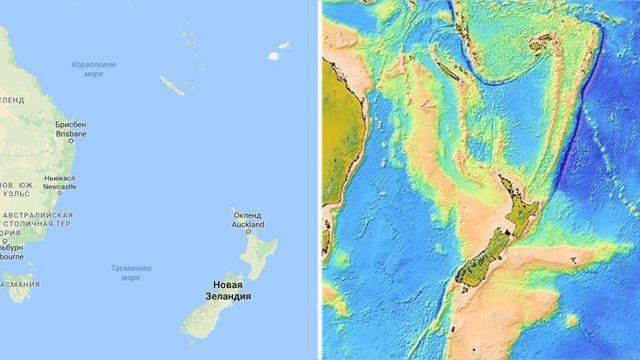 TechnoBlitz.it Zealandia, un ottavo continente sotto la Nuova Zelanda