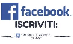 Iscriviti alla nostra community Android