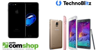 Puntocomshop.it: nuove interessanti offerte per iPhone 7 Jet Black e Note 4
