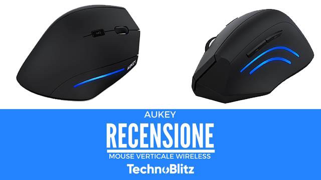 TechnoBlitz.it Mouse Verticale Aukey - Recensione
