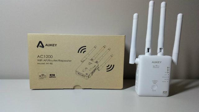Recensione ripetitore WiFi Aukey AC1200 5GHz