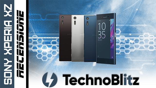 TechnoBlitz.it Sony Xperia XZ -  La RECENSIONE
