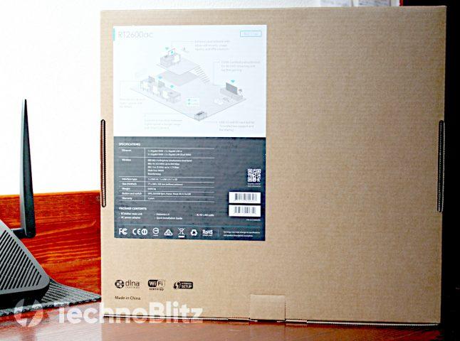 Retro scatola Synology RT2600ac