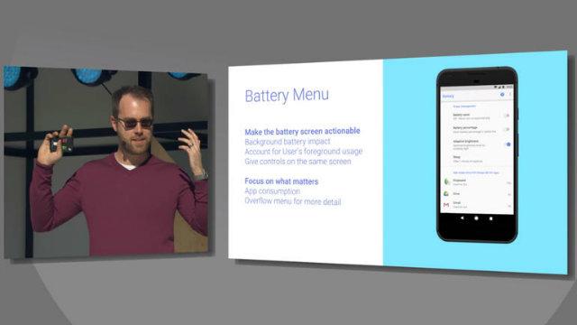 Android O: il nuovo menu mostra quali app consumano più batteria