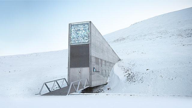 edificio, Svalbard Global Seed Vault