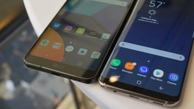 LG V30 sarà il diretto concorrente del Galaxy Note 8 con display da 6.2 e 6.3 pollici rispettivamente