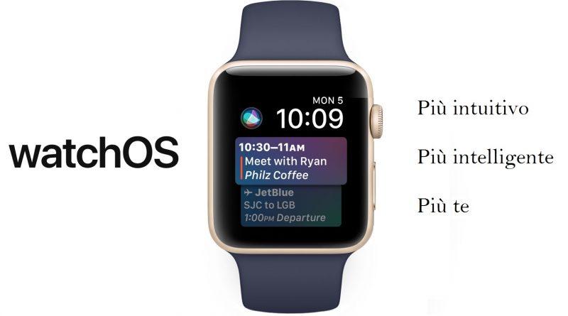 Apple watch OS 4