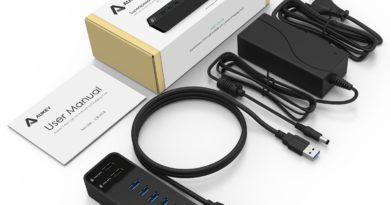 Aukey: recensione Hub USB 3.0 CB-H18