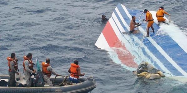 Immagini disastro volo Air France 447