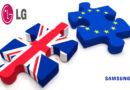 Brexit: Samsung e LG potrebbero lasciare UK
