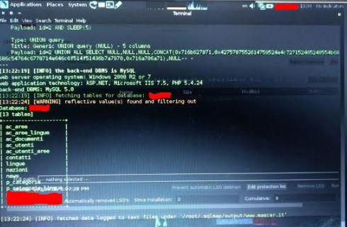 SQLMap Test