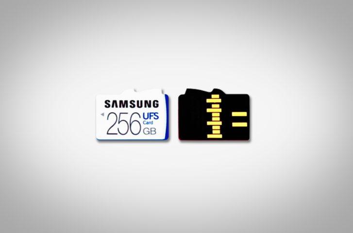 Memory Card UFS velocissime presentate da Samsung