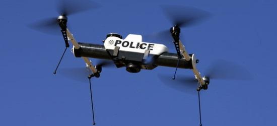 Droni con livrea della polizia inglese