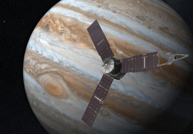 Juno compie il passo più vicino a Giove