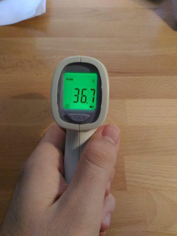 Recensione termometro a infrarossi Hylogy
