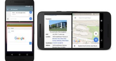 La gesture per lo split-screen su Android 7.1 è scomparsa