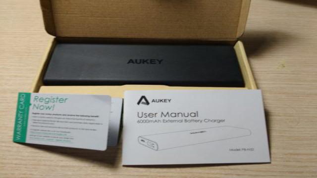aukey-pb-n32-unboxing