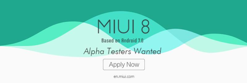 MIUI 8 con Android 7.0 in arrivo su Mi5!