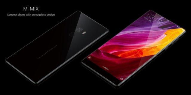 Xiaomi Mi Mix, smartphone boardless