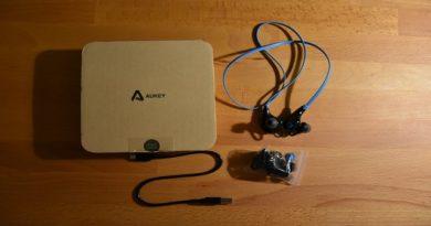 Recensione cuffie Bluetooth Aukey EP-B4