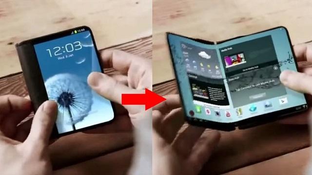 Samsung intende rilasciare due smartphone pieghevoli