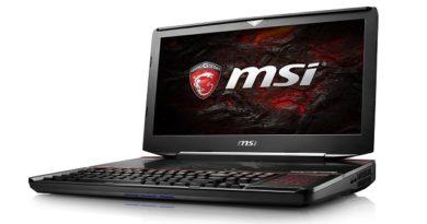 MSI GT83VR aggiornato con SLI di GTX 1080 e i7 Kaby Lake