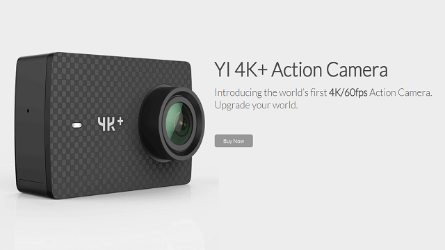Yi 4K+, nuova Action Cam 4K/60 FPS