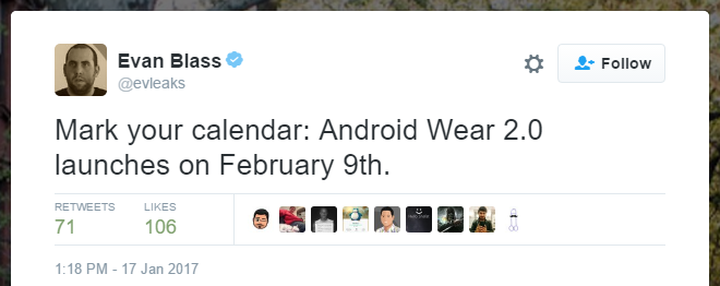 Android wear release date technoblitz