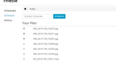 eliminazione file da Dropbox