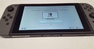 Il sistema operativo di Nintendo Switch trapelato in video