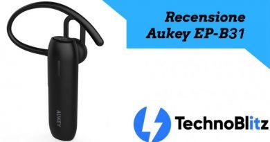 Auricolare Aukey Bluetooth EP-B31