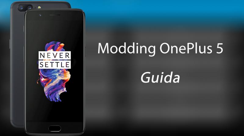 Modding OnePlus 5