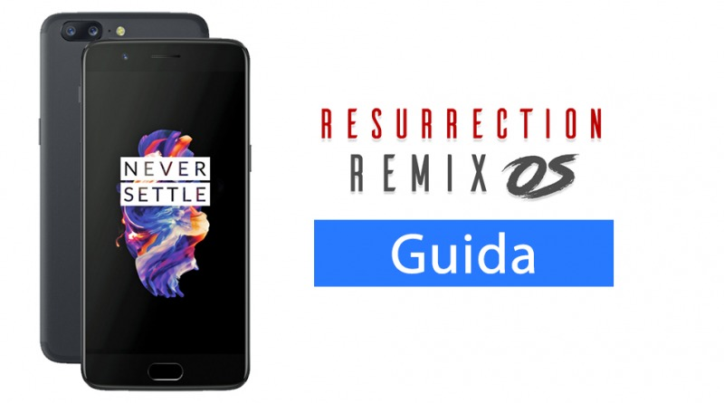 OnePlus 5 - Resurrection Remix
