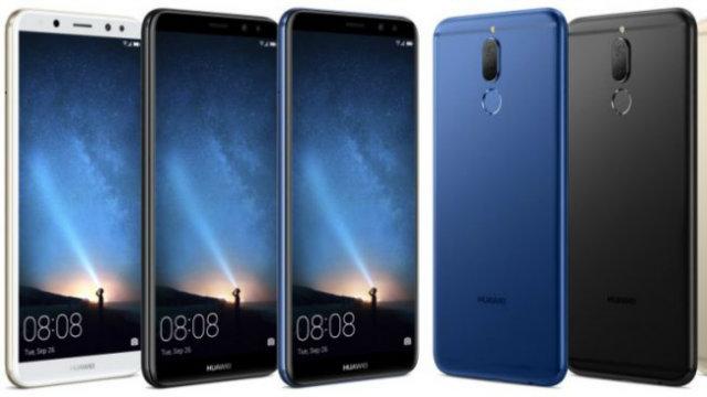 "Huawei Mate 10 Lite svelato completamente, 4 camere e ""FullView Display"""