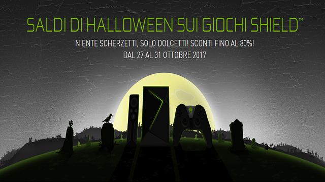 NVIDIA SHIELD: saldi di Halloween fino all'80%