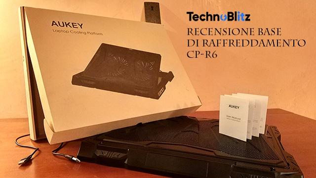 base raffreddamento Aukey CP-R6