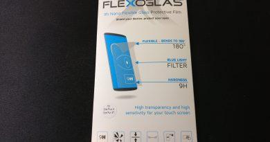Vetro temperato Flexoglas recensione: protegge il device da urti e i vostri occhi dalla luce blu