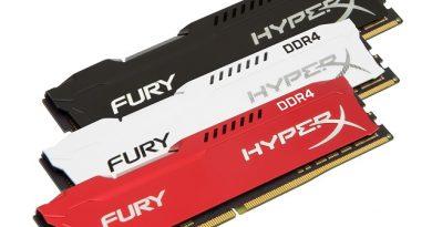 HyperX: nuovi modelli di RAM DDR4