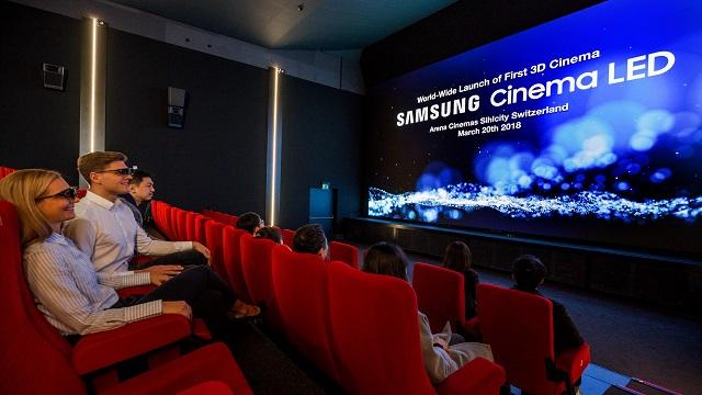 Samsung Cinema LED in prima assoluta per l'Europa